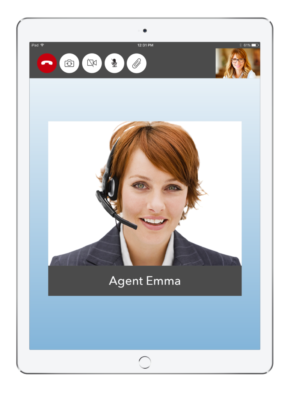 Live Expert Mobility In Call iPad