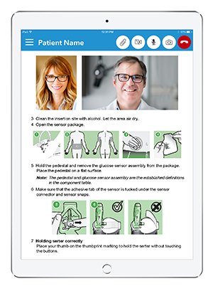 Live Expert Mobility iPad Patient Services Content Sharing Instructions
