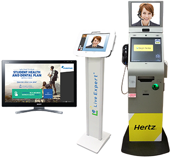 Video Kiosk | ClairVista Live Expert Station | Video Chat Service