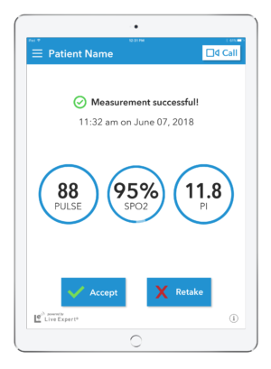 LE Mobility Home Healthcare iPad Vertical 11.1 Measurements