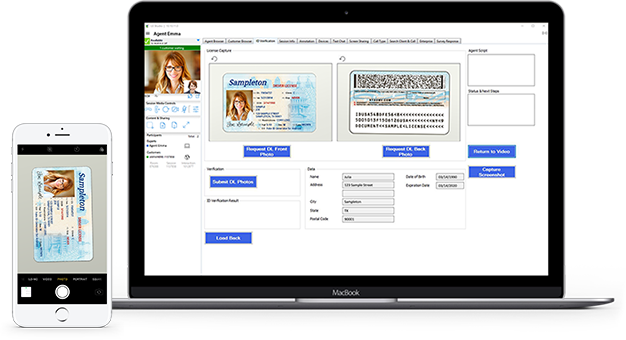 ID Verification on Mobile & Desktop