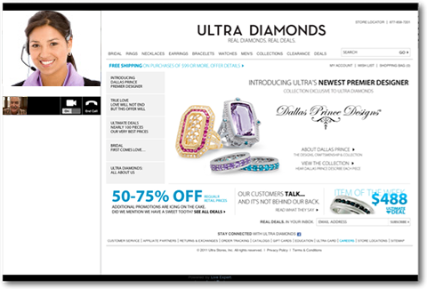 Ultra Diamonds Live Jewelry Consultant
